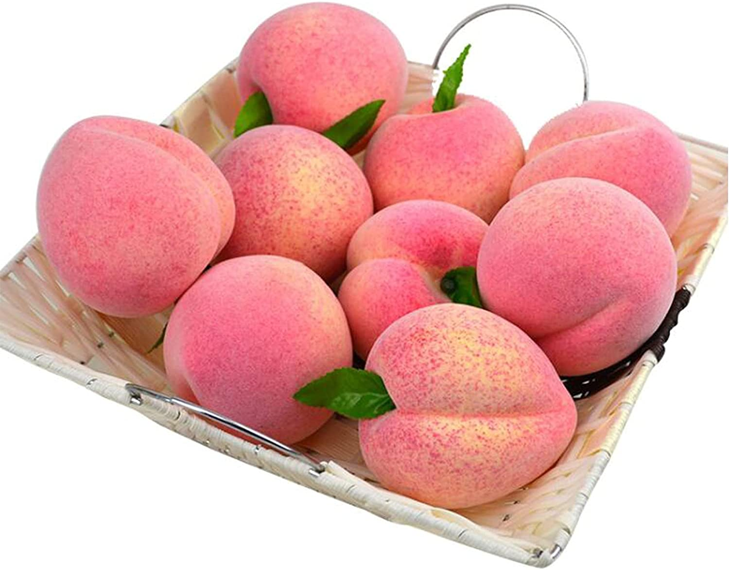 XDYFF Artificial Peaches Max Popular products 41% OFF for Decoration Fru Lifelike