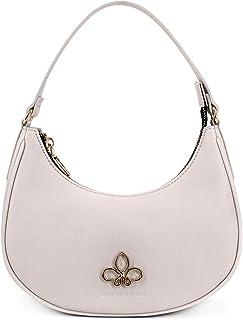 HOUSE OF FLORENCE, AZALEA borsa shoulder bag Vari Colori. Borsa da donna in materiale Eco-Pelle o Grana saffiano PU sintet...