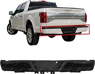MBI AUTO - Primered, Steel Rear Bumper Assembly for 2015 2016 2017 2018 Ford F150 w/Out Tow Hitch 15-18, FO1103184