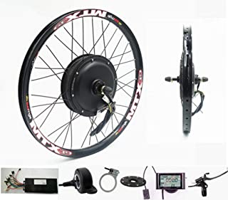NBPower 72V 2000W Rear Wheel Motor, 2000W Electric Bike Kit,Electric Bicycle Conversion Kit with Mutifunction SW900 Display,72V 40A Controller, with 7 Speed flywheel