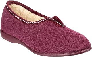 GBS Damen Helsinki Classic Slipper Hausschuhe Pantoffeln Halbschuhe Schuhe