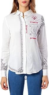 Luxury Fashion | Desigual Womens 19WWCW09WHITE White Shirt | Autumn-Winter 19