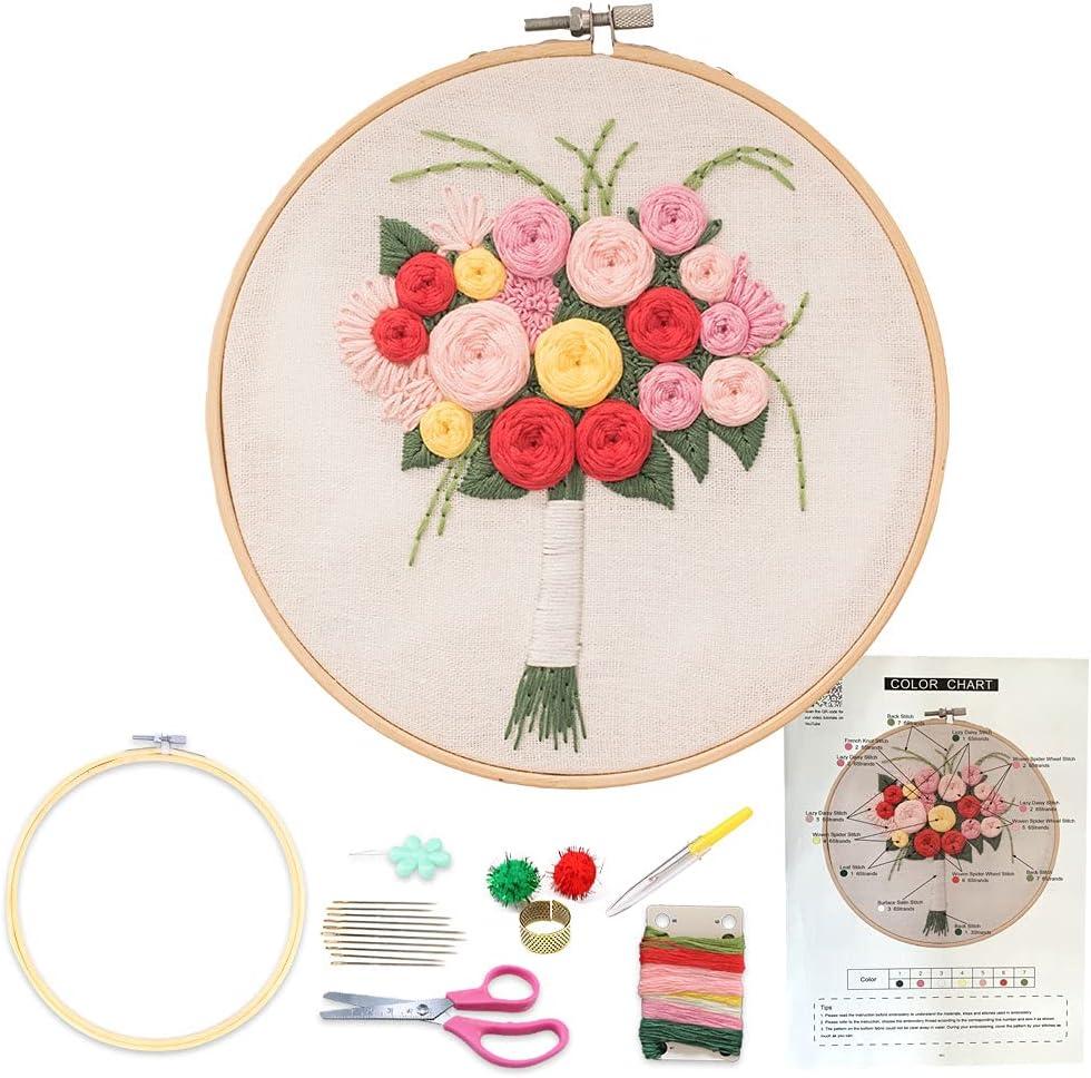 Embroidery Sale SALE% OFF Starter Superlatite Kit for Stitch Cross Beginners