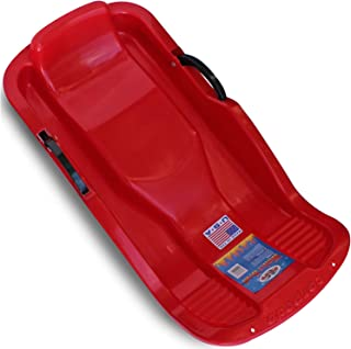 Flexible Flyer Winter Heat Snow Sled. Plastic Sno Slider Bobsled
