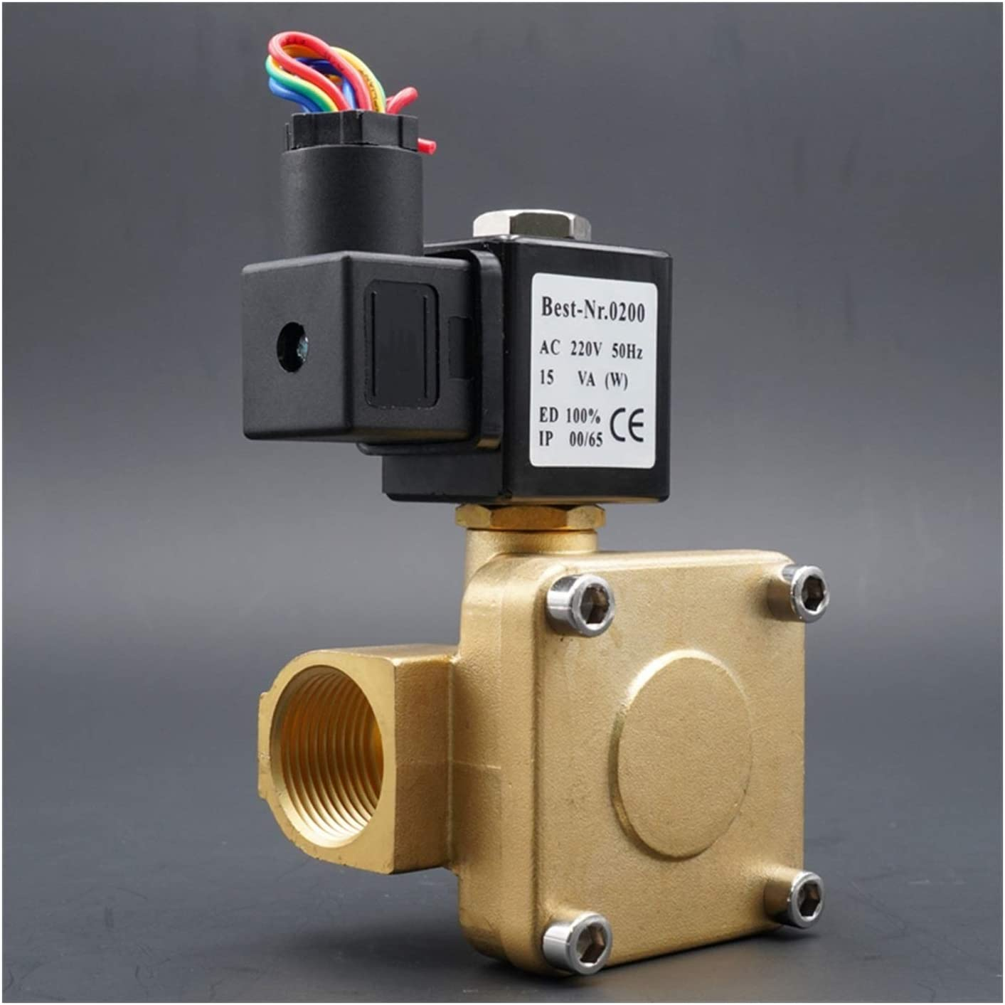 DINGGUANGHE Solenoid Time Max 55% OFF sale Valve AC220V Water Clo Normally DC24V