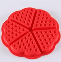 Baking Mold DIY Silicone Waffle Mold Non-stick Kitchen Bakeware Cake Mould Makers for Oven High-temperature Baking Set Bakeware Cooking Tool (Color : 51068)