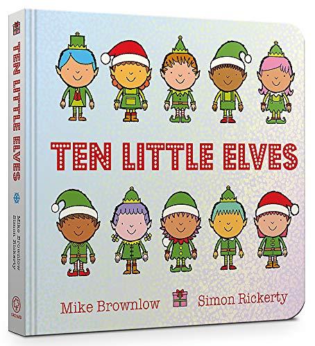 Ten Little Elves Board Book