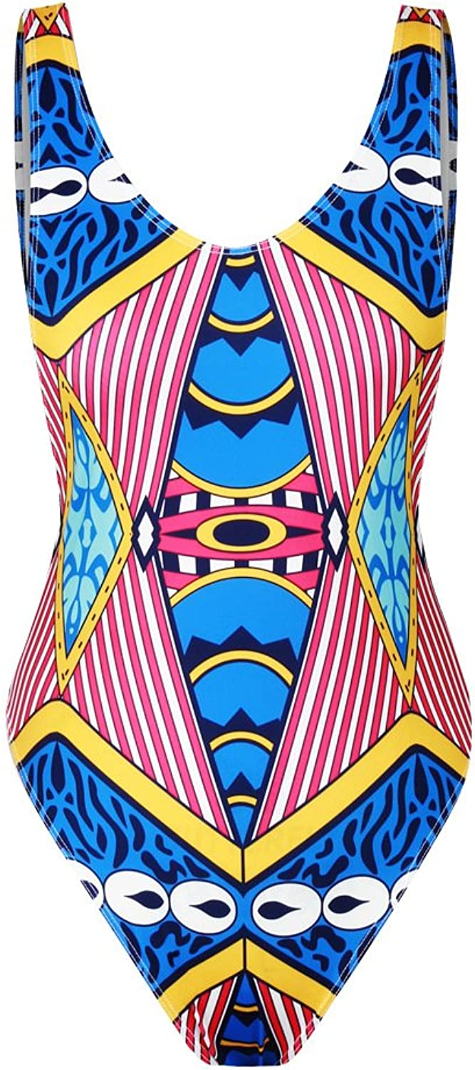 DHWMDigital Stamp One of The Triangle Swimwear Female Black Out of Pogreeny and The Waist The Hip Exposed Back