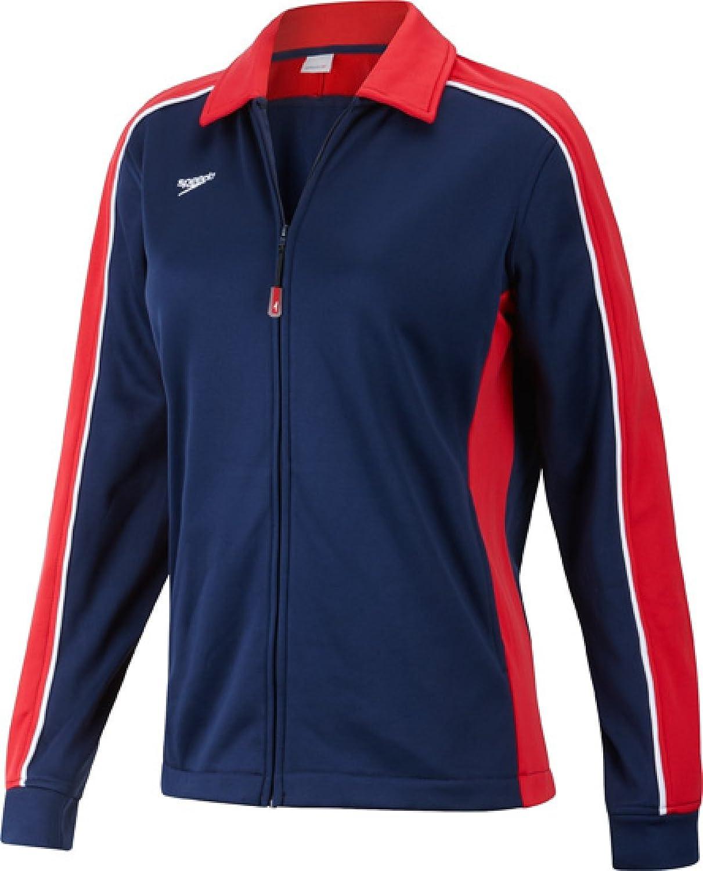 Speedo 7201482 Damen Streamline Warm Up Jacke, Damen, Rot Marineblau B00FQ2MB6I Sorgfältig ausgewählte Materialien     | Bestellung willkommen
