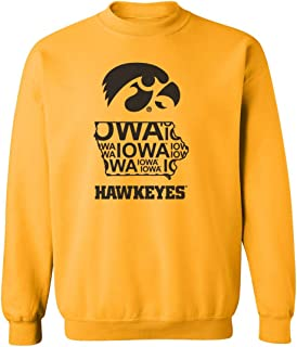 iowa hawkeye outline