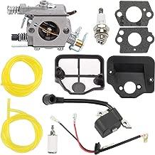 Trustsheer 530071987 Carburetor for Husqvarna 36 41 136 137 141 142 Poulan PP4620AV PP4620AVX PP4620AVL PP4620AVHD Gas Chainsaw Walbro WT-834 WT-657 WT-529 WT-239 Carb