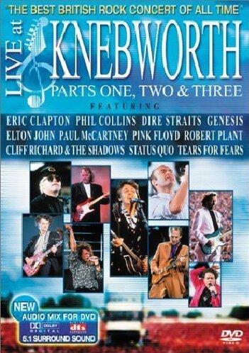Various Artists - Live at Knebworth Parts 1,2 & 3 [2 DVDs]
