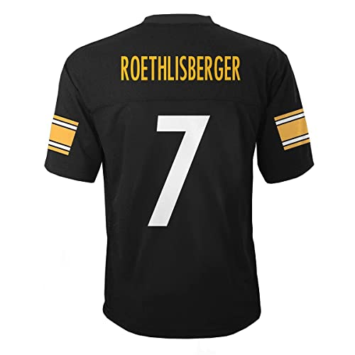 dc8e5f64441 Ben Roethlisberger Pittsburgh Steelers  7 Black NFL Infants Home Replica  Jersey