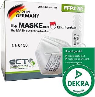 COCO BLANCO FFP2 Masken CE Zertifiziert aus Deutschland I 20 Stück MADE IN GERMANY I DEKRA Zertifiziert I Inklusive Masken...