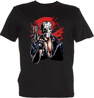 Renowned Boy's Girl's Kid's Children's Terminator Jason Voorhees T Shirt