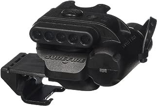 SureFire HL1-A Helmet Light with multiple low-signature spectrums of light and ratchet mount, black