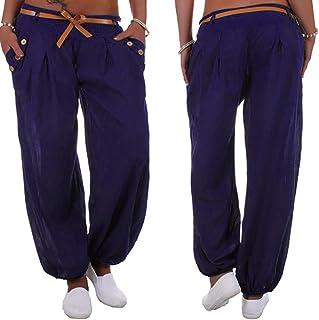d9bbca8f7c21 Pantaloni da Donna a Vita Alta Pantaloni Lungo Sportivi Tempo Libero Pantaloni  Donna Larghi Estivi Taglie