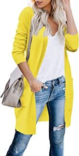 Best yellow cardigan sweater Reviews