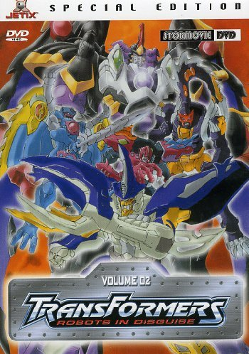 Transformers Robots In Disguise #02 (Eps 05-08) [Italia] [DVD]