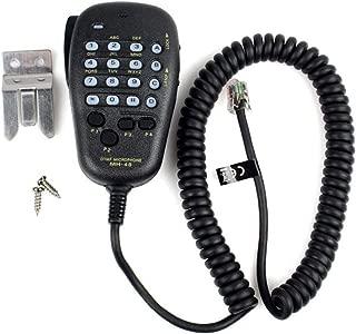 Busirde MH-48 Car Radio Mic 6 Pin DTMF Microfono Altoparlante per Yaesu radio mobile FT-7800R FT-8800R FT-8900R