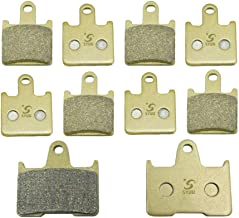 SYUU Motorcycle Replacemen Front Rear Brake Pads Brakes for Kawasaki Concours 14 ZG 1400 ZZR GTR ZX 1400 Ninja 2006-2014 FA417F FA254R