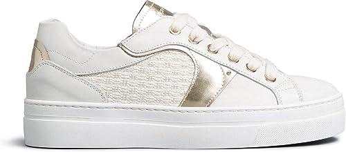 Nero giardini sneaker donna pelle/tela E010672D 707