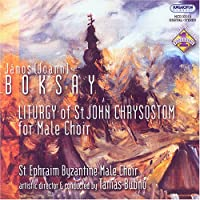 Liturgy of St John Chrysostom for Male Choir