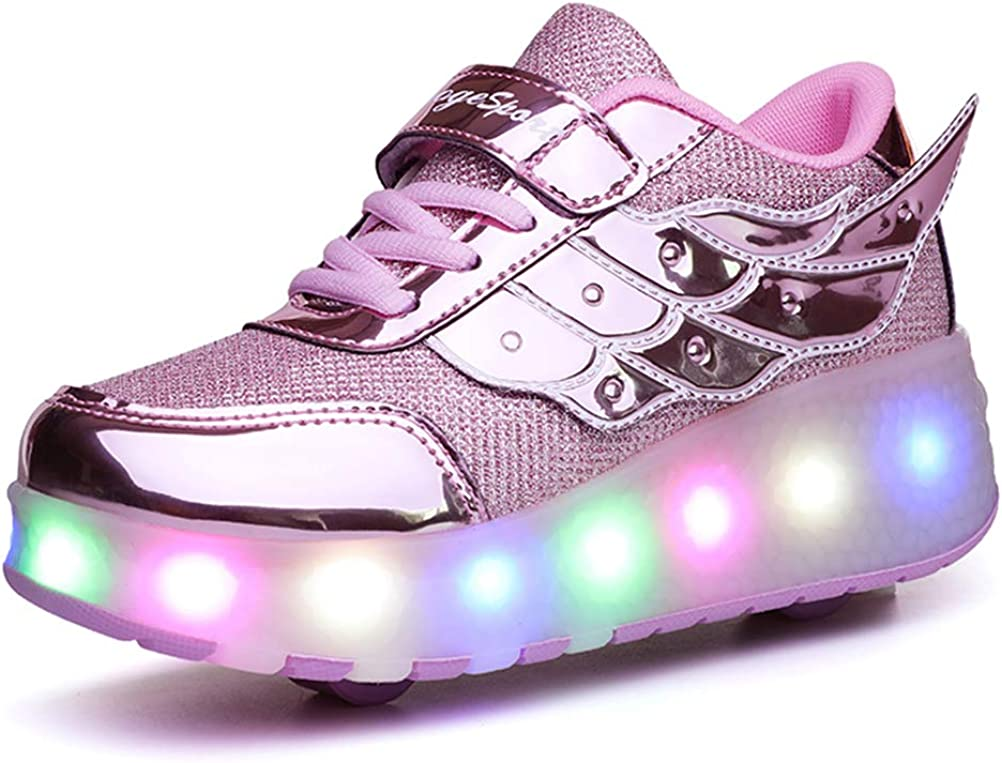 Ufatansy High order Roller Shoes USB OFFicial shop Wheels Chargeable Sneakers Girls