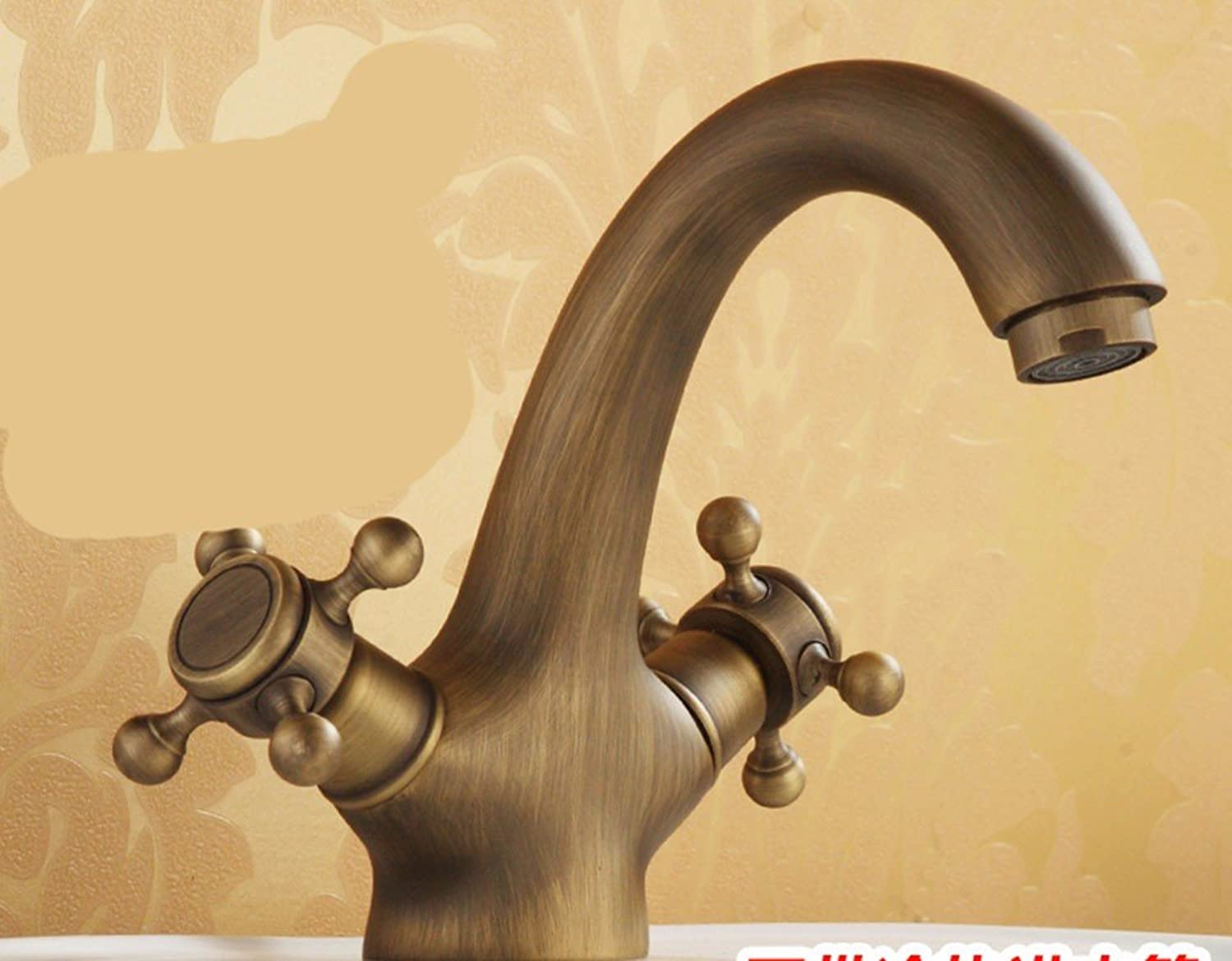 Hlluya Professional Sink Mixer Tap Kitchen Faucet Copper, bathrooms, hot and cold, washbasin, taps, 6