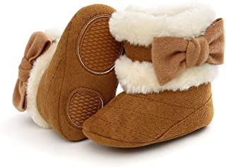 PanGa Baby Boys Girls Snow Boots Premium Soft Sole Non-Slip Warm Winter Toddler Infant Prewalker Newbron Shoes