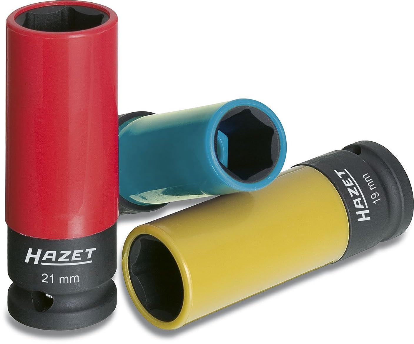 非アクティブ読みやすさ冷蔵庫HAZET(ハゼット) インパクトソケット (17?19?21mm) 3本組 903SPC/3