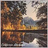 California Landscape 2021 Wall Calendar: Official US State Calendar 2021
