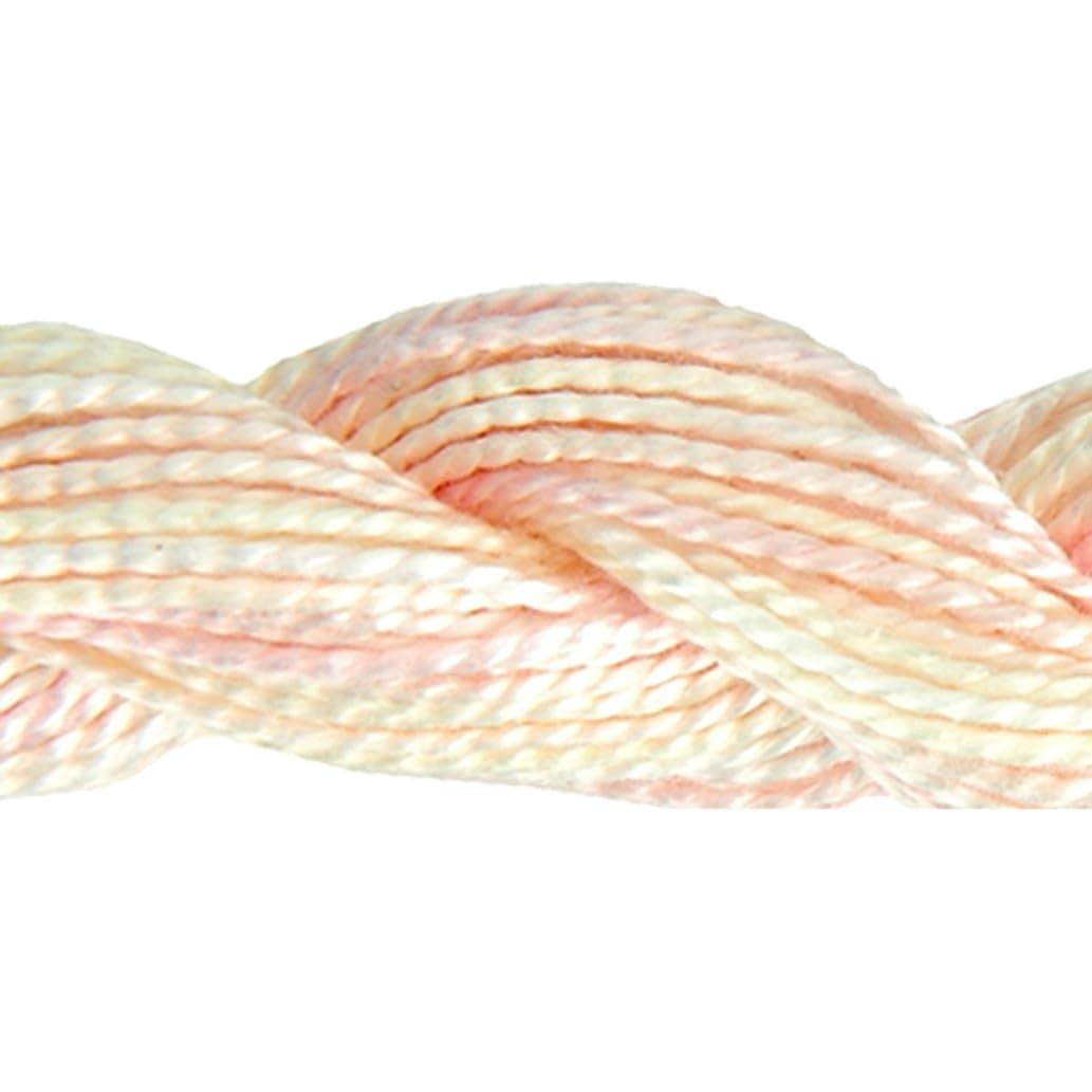 DMC 415 5-4160 Color Variations Pearl Cotton Thread, Size 5, 27-Yard, Glistening Pearl