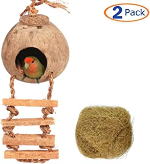 Best love birds coconut nest Reviews