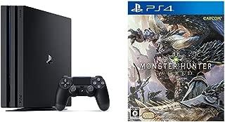 PlayStation 4 Pro ジェット・ブラック 1TB (CUH-7100BB01) + モンスターハンター:ワールド