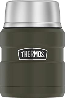 Thermos Stainless King 16 Ounce Food Jar with Folding...