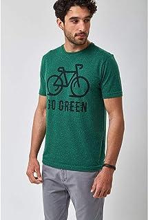 Camiseta Go Green - Verde