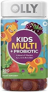 Ollys Kids' Multi + Probiotic Yum Berry Punch Vitamin Gummies (160 ct.)