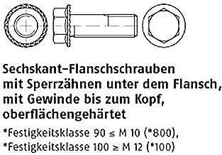 6kt.flensschroeven ART 88933 zeskan.-triptandschr. Inclusief 90 M 8 x 16 VE = S 200 stuks