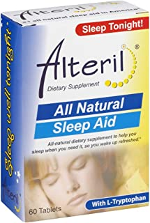 Alteril All Natural Sleep Aid 60 Tablets (Pack of 4)