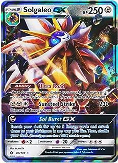 Pokemon - Solgaleo-GX - 89/149 - Sun & Moon