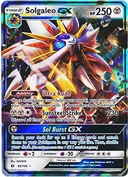 pokemon cards solgaleo gx