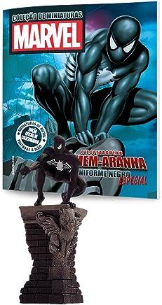 Homem-Aranha Uniforme Negro - Coleção Marvel Figurines