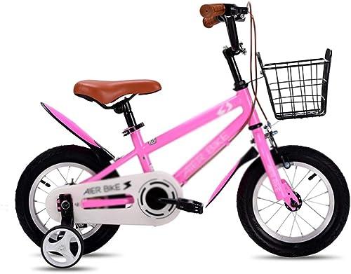 Venta en línea precio bajo descuento Bicicletas Niños de una Sola Velocidad, Montaña, niña, Cuadro de de de Acero de Alto Carbono, Adecuado para Niños de 3-10 años  costo real