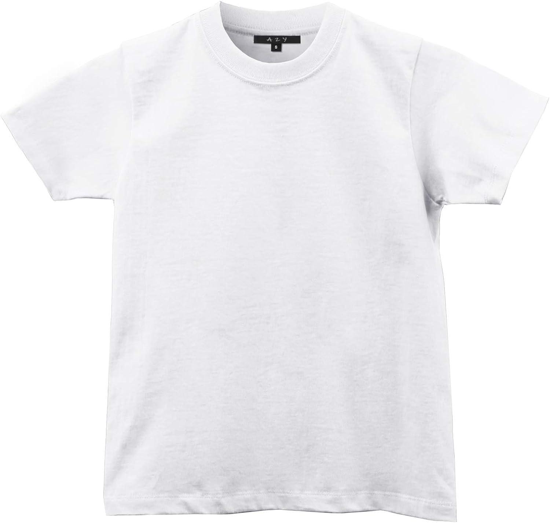 A2Y Kid's Heavy Cotton Crew Neck T-Shirts