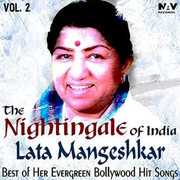 The Nightingale of India Lata Mangeshkar Best of Her Evergreen Bollywood Hindi Hits Songs, Vol. 2