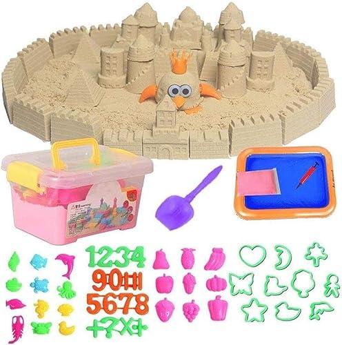 Lernspielzeug Bunte DIY Kinder p gogische Magie Tiere Modelle geb e Strand Spielen Sand Wasser modellierung Sand Weiße Magie 06.13 (Farbe   C)