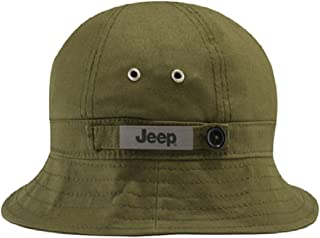 Jeep Packable Bucket Cap, Green, One Size Fits Most