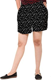 EASY 2 WEAR ® Women's Cotton Rayon Printed Shorts (Size S to 4XL) Comfort FIT and Plus Sizes