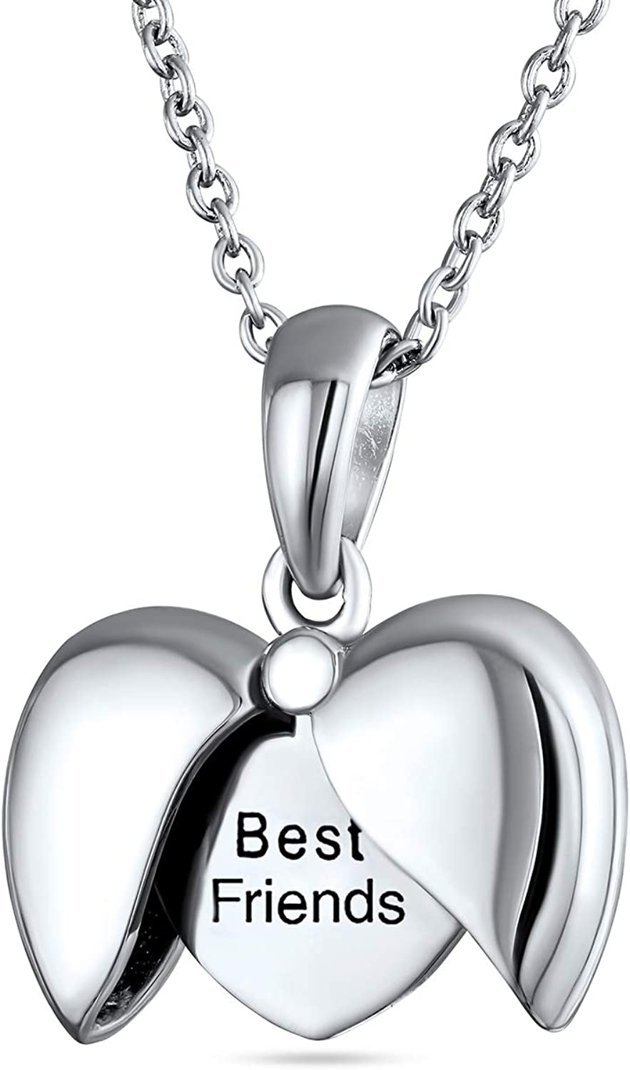 Engraved Sayings BEST FRIENDS MOM I LOVE YOU Year-end annual account Wing H Super sale Angel